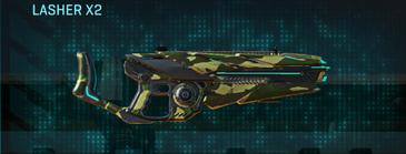 Temperate forest heavy gun lasher x2
