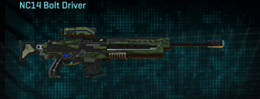Amerish forest v2 sniper rifle nc14 bolt driver