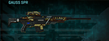 India scrub sniper rifle gauss spr
