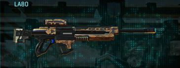 Indar canyons v1 sniper rifle la80