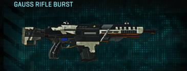 Indar dry ocean assault rifle gauss rifle burst
