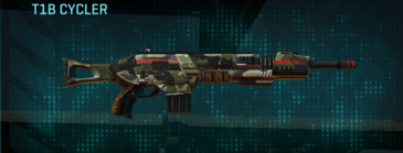 Woodland assault rifle t1b cycler
