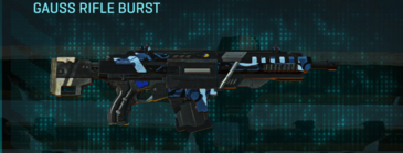 Nc alpha squad assault rifle gauss rifle burst
