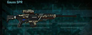 Arid forest sniper rifle gauss spr