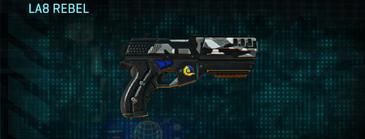 Indar dry brush pistol la8 rebel