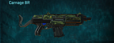 Amerish forest assault rifle carnage br