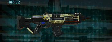 Palm assault rifle gr-22