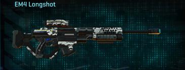 Forest greyscale sniper rifle em4 longshot