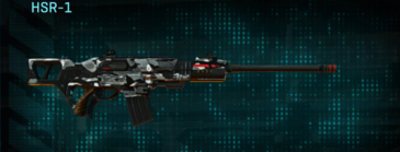 Indar dry brush scout rifle hsr-1