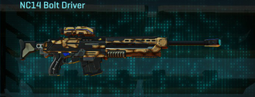 Giraffe sniper rifle nc14 bolt driver