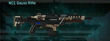 Desert scrub v2 assault rifle nc1 gauss rifle