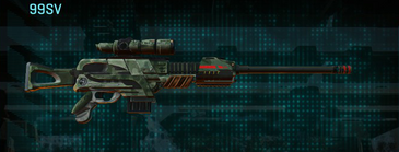 Amerish brush sniper rifle 99sv