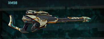 California scrub sniper rifle xm98