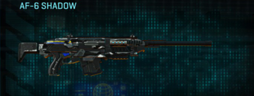 Indar dry brush scout rifle af-6 shadow