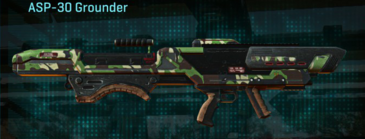 African forest rocket launcher asp-30 grounder