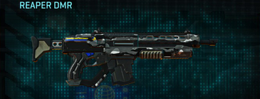 Indar dry brush assault rifle reaper dmr