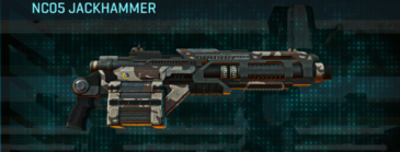 Indar scrub heavy gun nc05 jackhammer