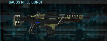 Pine forest assault rifle gauss rifle burst