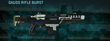 Rocky tundra assault rifle gauss rifle burst