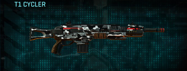 Indar dry brush assault rifle t1 cycler