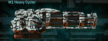 Forest greyscale max m1 heavy cycler
