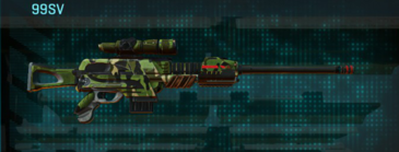 Jungle forest sniper rifle 99sv