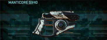 Rocky tundra pistol manticore sx40