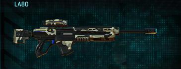 Desert scrub v1 sniper rifle la80