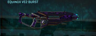 Vs digital assault rifle equinox ve2 burst