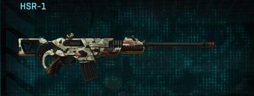 Desert scrub v1 scout rifle hsr-1
