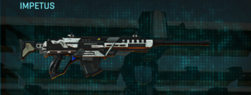 Rocky tundra sniper rifle impetus
