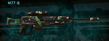 African forest sniper rifle m77-b