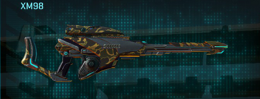Indar highlands v1 sniper rifle xm98