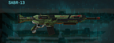 Amerish forest v2 assault rifle sabr-13