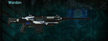 Esamir ice battle rifle warden