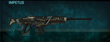 Woodland sniper rifle impetus