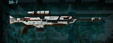Esamir snow sniper rifle sr-7