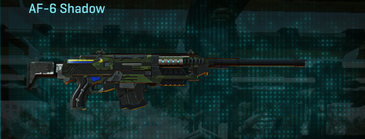 Amerish leaf scout rifle af-6 shadow