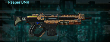 Indar canyons v1 assault rifle reaper dmr