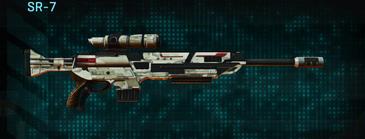 Indar dry ocean sniper rifle sr-7