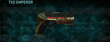 Temperate forest pistol tx2 emperor
