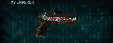 Snow aspen forest pistol tx2 emperor