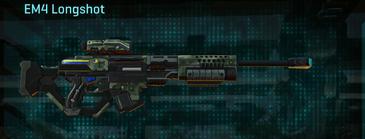 Amerish brush sniper rifle em4 longshot