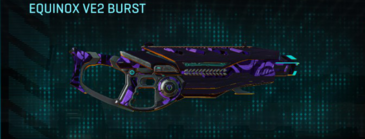 Vs alpha squad assault rifle equinox ve2 burst