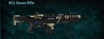 Desert scrub v1 assault rifle nc1 gauss rifle