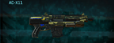 Temperate forest carbine ac-x11