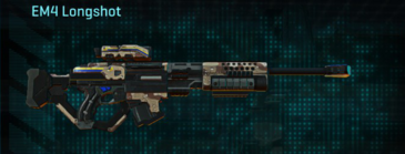 Desert scrub v2 sniper rifle em4 longshot