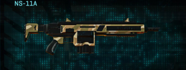 Indar dunes assault rifle ns-11a