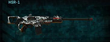 Snow aspen forest scout rifle hsr-1