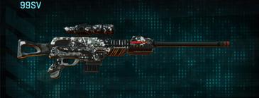 Snow aspen forest sniper rifle 99sv